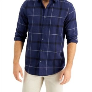 Alfani Men's Parsons Plaid Shirt